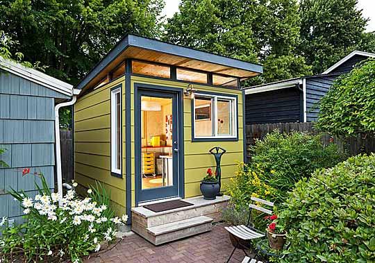 Prefab Sheds Studio By Modern Shed, Modern Garden Sheds
